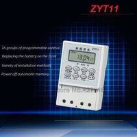 AC 220V Micro Computer Time Control Switch Programmable Timer Switch Relay Control ZYT11