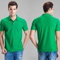 Clásicos vendedores calientes de Los Hombres de POLO de la Solapa Camisa de Manga Corta Sólido Hot Camiseta Tops Asia Ml XL XXL 3XL Nueva 2016