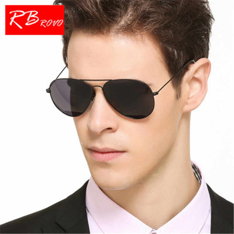 3aa75a56bdd RBROVO 2018 Luxury Sunglasses Men Metal Polarized Sun Glasses Brand Design  Driving Party Glasses For Oculos
