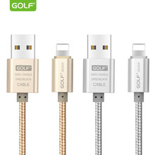 GOLF 1m 1.5m 2m USB Charge Cable for iPhone 6 6S 7 8 Plus Fast Charging USB Data Sync Cable for iPhone X XS Max XR 5S 5 SE Cable(China)