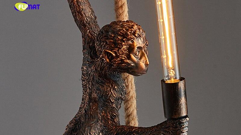 Monkey Pendant Light 19