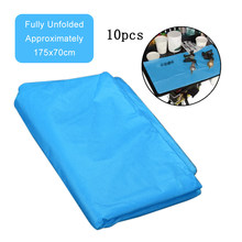 10pcs Disposable Tattoo Cleaning Impermeable Desechable Table Clean Pad Under Pad Hygiene Personal Medical Tattoo Table(China)