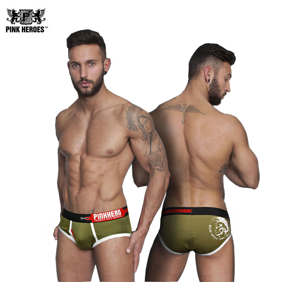 Buy Fashion Sexy Men Briefs Popular Brand Cotton Male Underwear Panties Casual Solid Man Shorts Sleepwear Underpants Top Quality