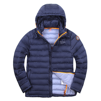 Men Winter Jacket Polyester by TIGER FORCE