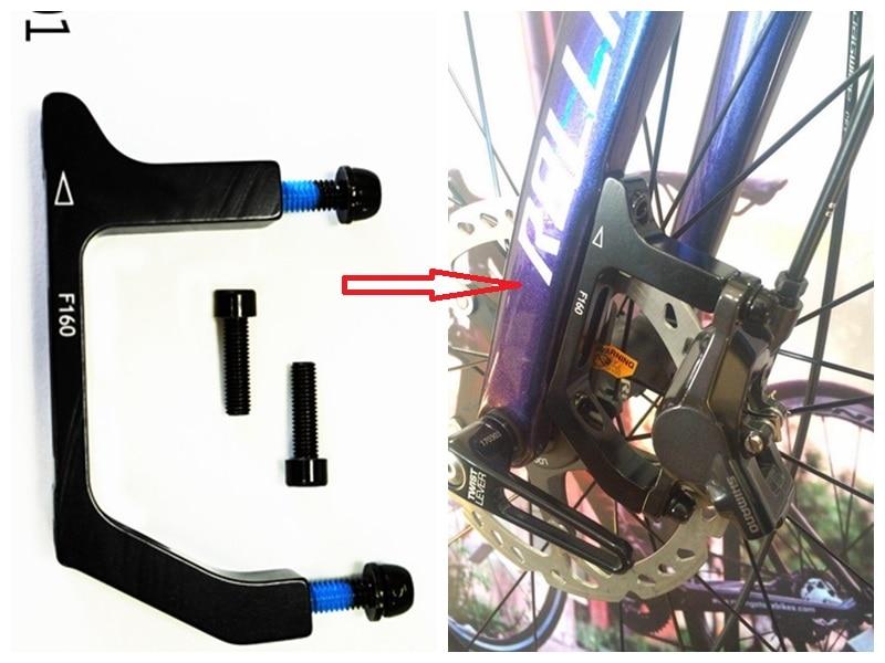 Juin Tech FM02 Cyclocross Bike Rear Brake Flat Mount Adapter for 160mm Rotor