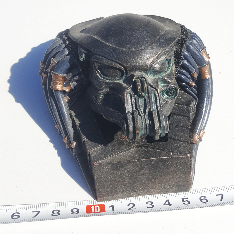 Best Action Figure Toy boyfriend gift Resin Alien VS Predator Finish Painting AVP Ashtray 1pcs цена