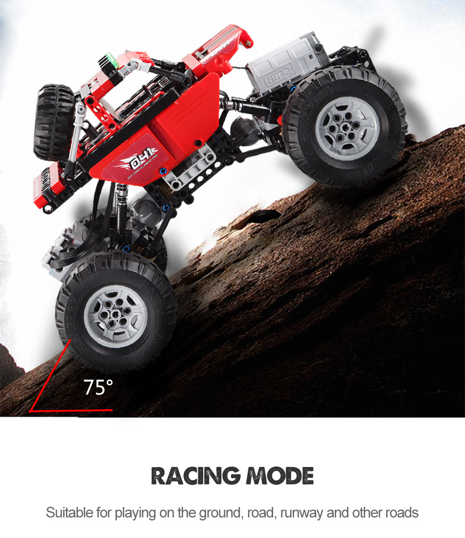 Cada c51041 off-road climbing car