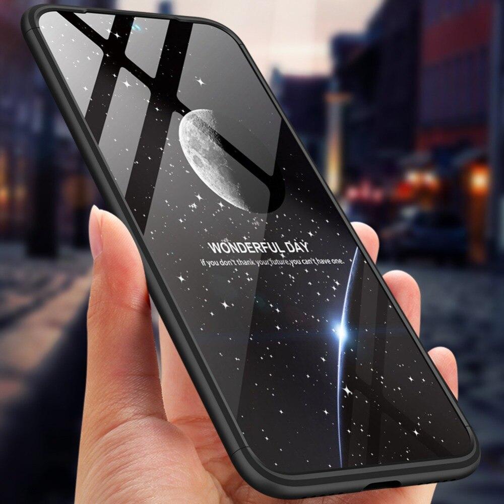Funda Xiaomi Redmi Note 7 de 360 grados de protección completa, carcasa dura de PC a prueba de golpes mate para Xiaomi Redmi Note 7 versión Global de 6,3 pulgadas|Fundas ajustadas|   - AliExpress
