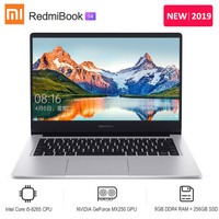 2019 Xiaomi Redmibook 14 Laptop Intel Core i5 8265U / i7 8565U NVIDIA GeForce MX250 8GB DDR4 256GB/512GB SSD Ultra Thin Notebook