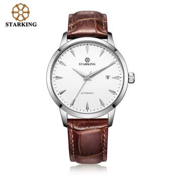 STARKING Original Brand Watch Men Automatic Self-wind Stainless Steel 5atm Waterproof Business Men Wrist Watch Timepieces AM0184 9