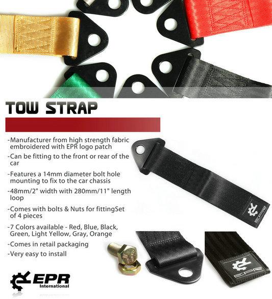 Tow Strap Black
