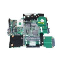 42T0169 42W2207 44C3716 IBM Lenovo thinkpad T60P Laptop Anakart Için Ana Kartı ile 15.4 Inç V5250 256 MB DDR2 Ücretsiz CPU