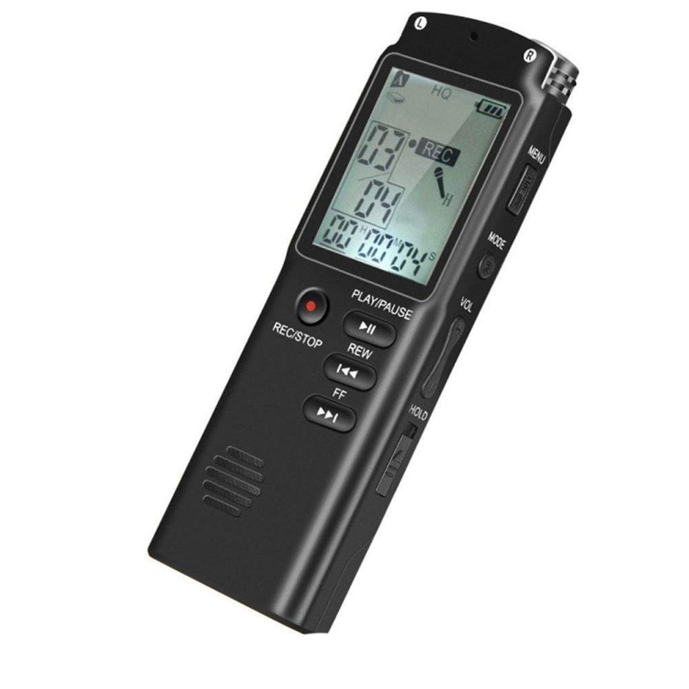 Enregistreur numérique, micro enregistreur MP3 à réduction de bruit USB HD, enregistreur portable
