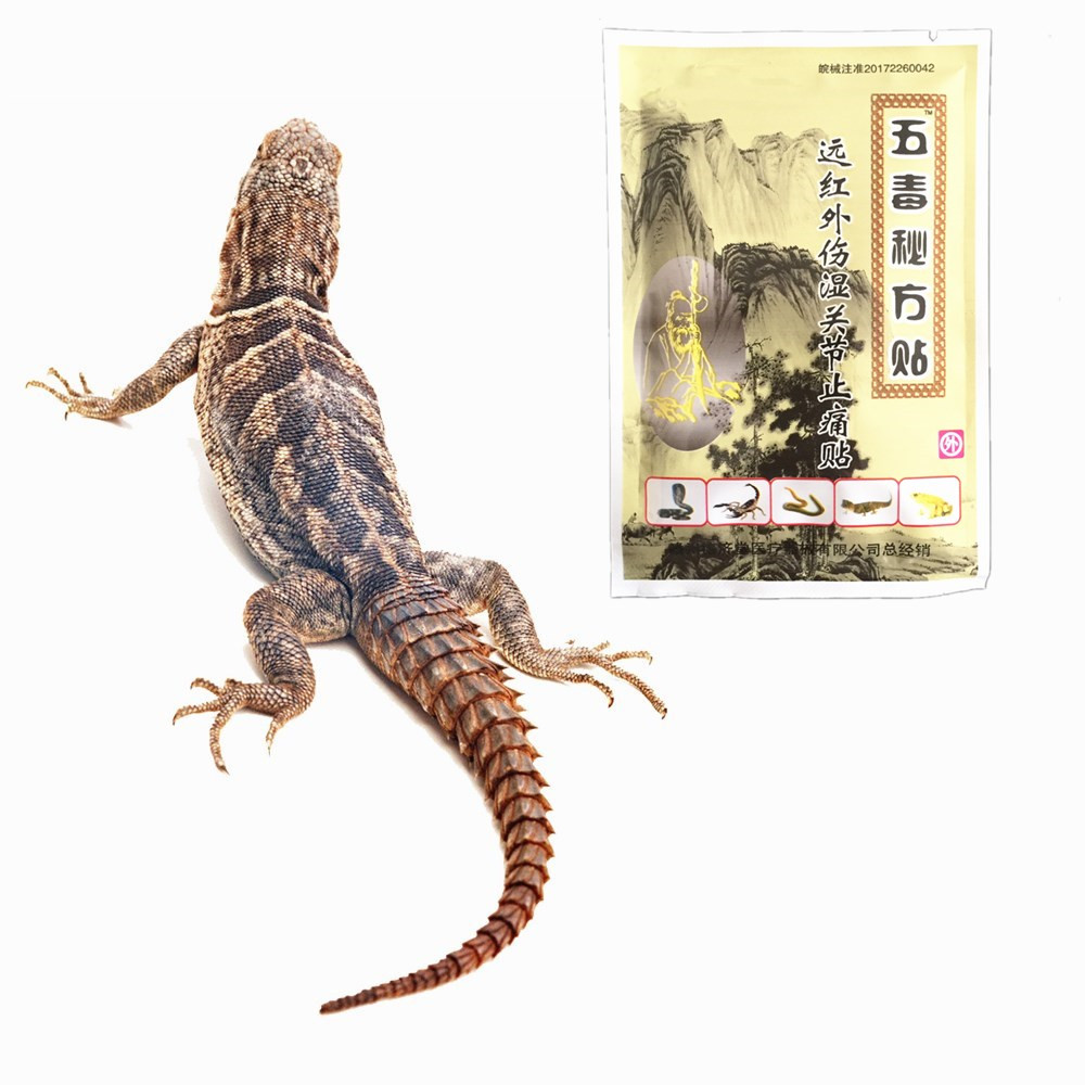 MIYUELENI Lizard venom Essential oil Relieving Itching Muscle Joints Pain Lumbar disc protrusion Far IR Heating Plasters image