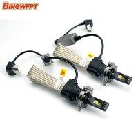 2pcs/lot LED H4 9003 HB2 Car Headlight 30W 3200LM 6500K 5500k Hi/Lo Beam car 12v led light