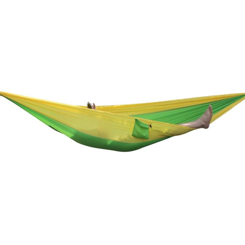 Portable Hammock Outdoor Double Parachute Cloth 2 Person Hamaca Hamak Rede Garden Hanging Chair Sleeping Travel SwingPortable Hammock Outdoor Double Parachute Cloth 2 Person Hamaca Hamak Rede Garden Hanging Chair Sleeping Travel Swing