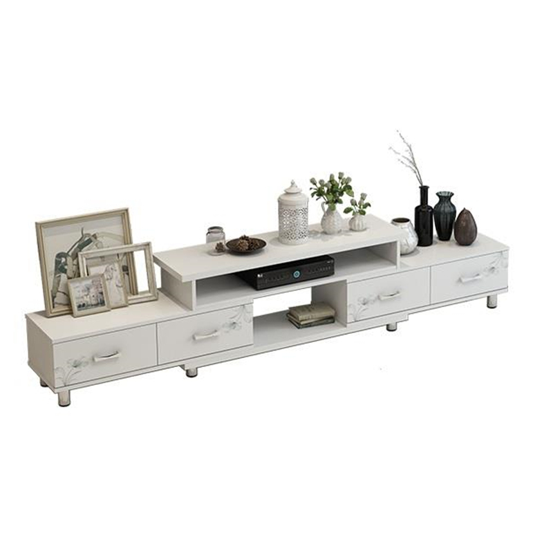 modern European combination set Tea table Simple TV Small apartment Mini living room floor cabinet