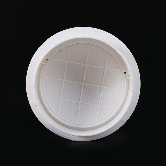 150mm Draft Blocker Damper Extractor Fan Back Draft Shutter Ventilation Check Valve Draught Tube Connector Damper Stopper