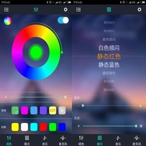 Image 5 - WiFi Bluetooth Âm Nhạc RGB Điều Khiển DC5 24V Mini Thông Minh Ánh Sáng Dải Điều Khiển Mờ Cho 5050 3528 RGB LED Strip Tape Mới IL