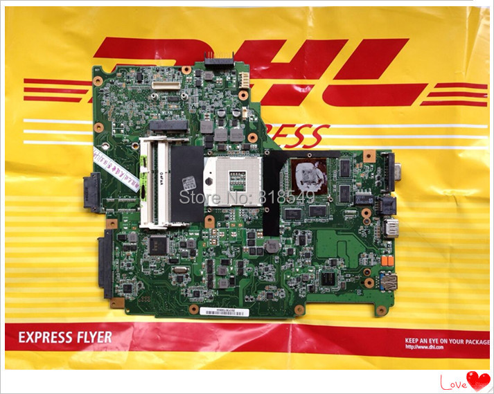 N61JQ Notebook Motherboard N61JA REV 2.1 ( i7 Processor) system Main board professional Wholesale