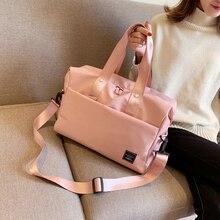 2019 Big Oxford Black Pink Women Travel Bag High Quality Waterproof luggage organizer Fashion Outdoor Female Weekend Duffle Bag