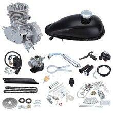 """(Verschiffen Von UNS) 80cc 2-takt 26 """"28"""" Motor Schalldämpfer Motorisierte Fahrrad Motor Gas Kit"""