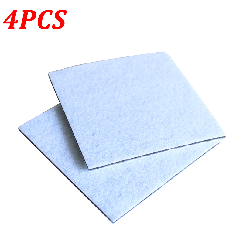 4PCS/Lot Vacuum Cleaner HEPA Filter For Philips Electrolux Motor Cotton Filters Wind Air Inlet Outlet Filter Vacuum Cleaner Part