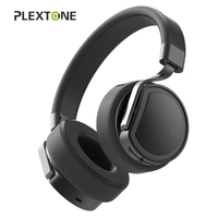 100% Original Plextone BT270 Wireless Bluetooth or wired Headphones+8GB MP3 music player game HIFI with mic for iPhone xiaomi