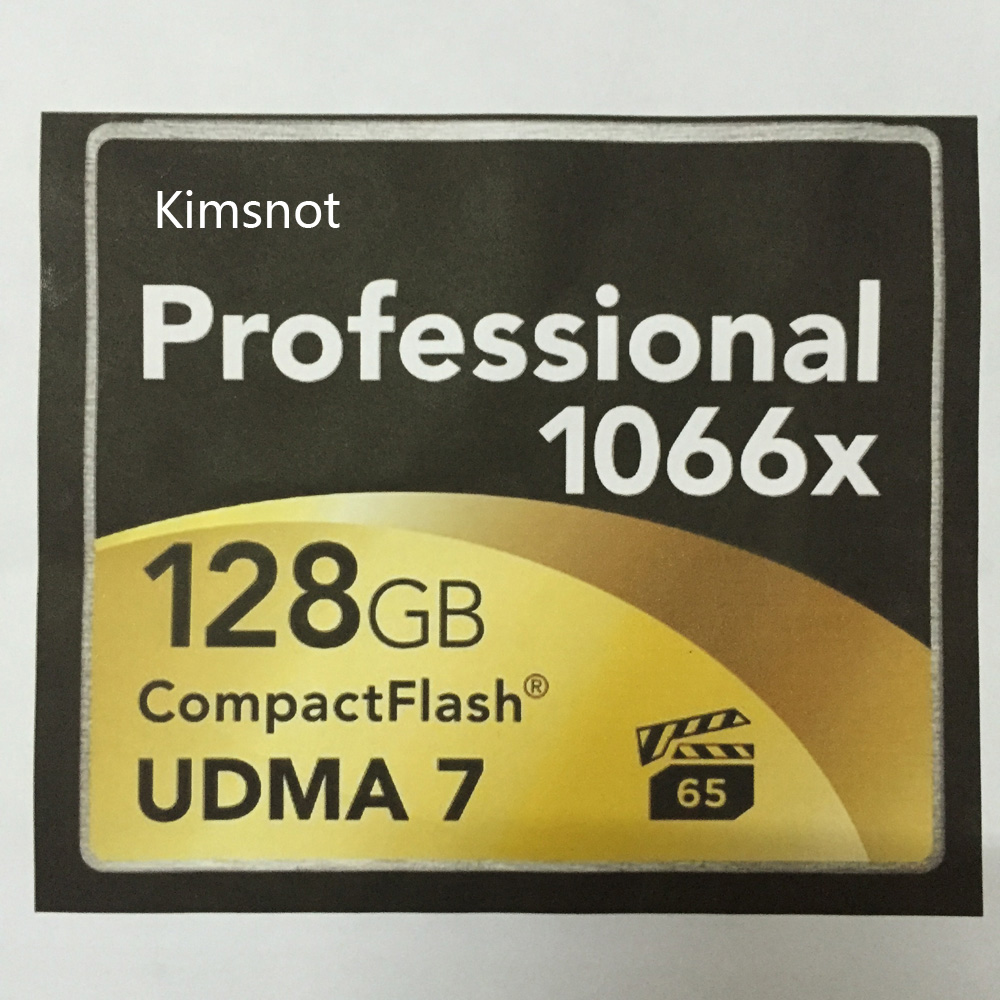 Kimsnot Memory Card CF Card 16gb 32GB 64gb 128GB Compact Flash Card UDMA 7 High Speed 160MB/s 1066x For Canon Nikon