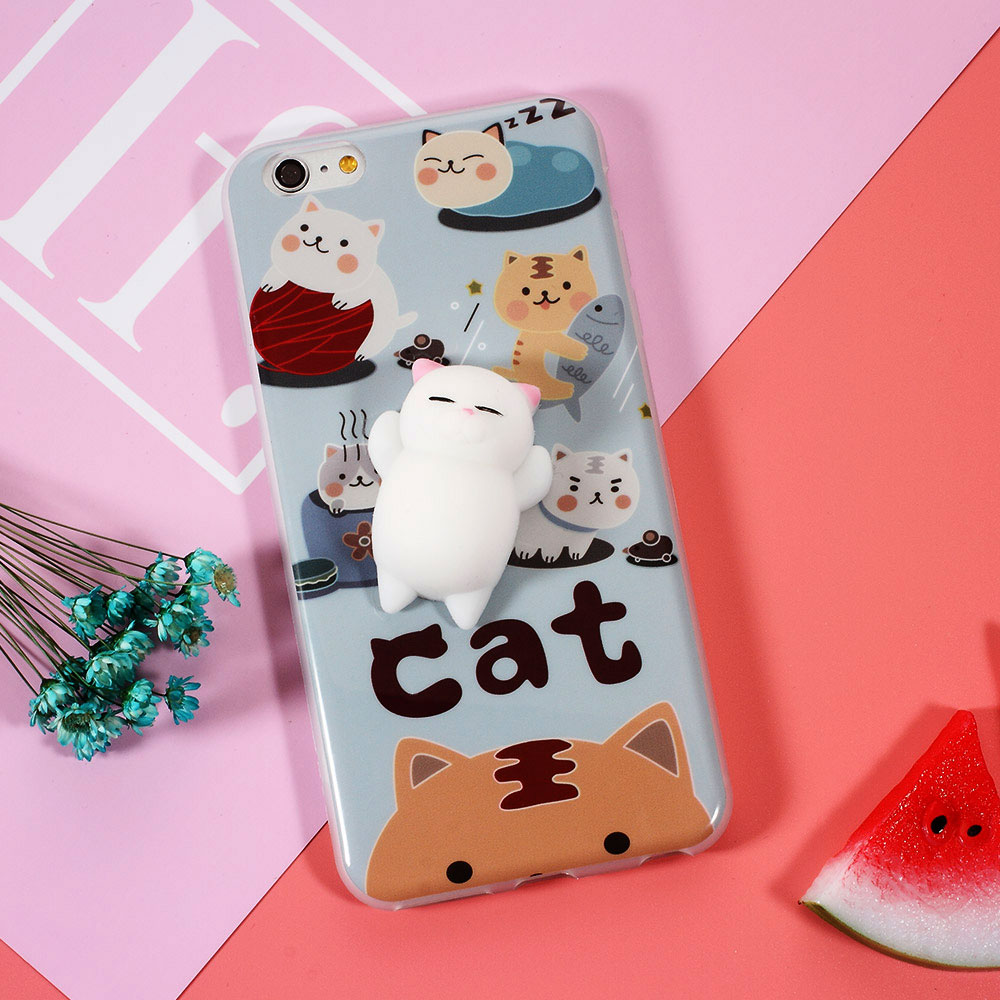 Cover iphone 5 squishy - Squishy Mobile Phone Cases 3d Cute Phone Cover For Iphone 6s 6 6 Plus 7 7