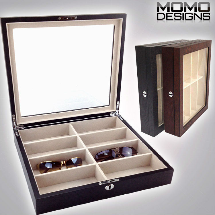 Merveilleux Luxury Wooden Sunglasses Storage Box, Nature Wood 8 Piece Glasses Box  Display, High Quality Storage Case For Home Decor In Storage Boxes U0026 Bins  From Home ...