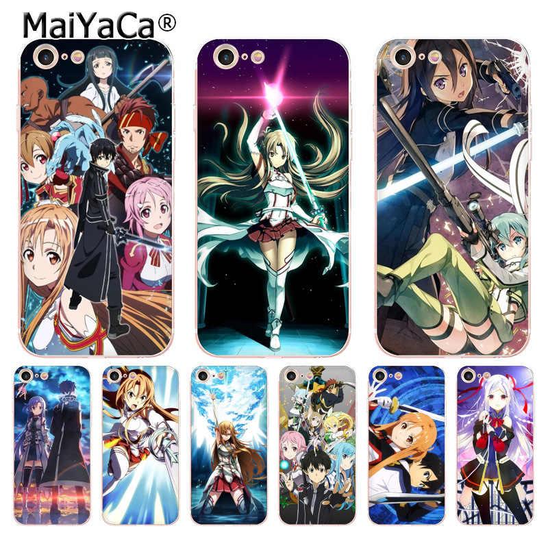 coque iphone 8 sword art online
