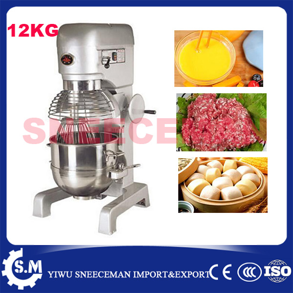 40L 12kg electric dough mixer hook machine for sale dough mixer machine