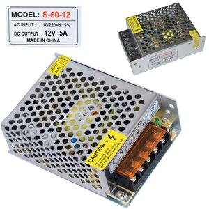 Image 3 - Led treiber 5V 12V 24V 36V 48V 1A 2A 5A 10A 20A 30A 60A LED netzteil AC85 265V Beleuchtung Transformatoren Für LED Power Lichter