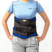 Waist Orthosis Adjustable Waist Belt Lumbar Support Back Waist Brace Double Banded for lumbar disc herniation fracture