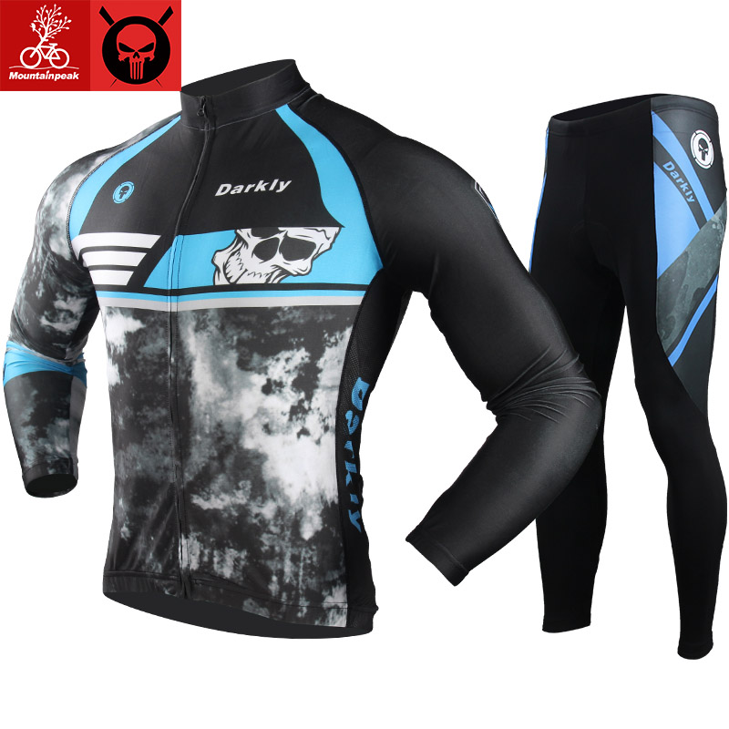Mountainpeak New Cycling Jersey Spring Autumn Long Sleeve Mtb Mountain Bike Bicycle Clothing Quick Dry Cycling Breathable Jersey ckahsbi 2017 new long sleeve cycling sets suit male autumn winter jersey outdoor bike coat quick dry mtb riding pants mountain