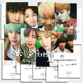 2016 Recién Llegado de k-pop Bts Bangtan niños Álbum de Fotos Tarjetas Cartel Párrafo Postal Tarjeta de 8 tarjetas de Kpop Carteles joven la Tarjeta Fotográfica