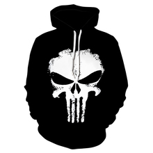 Hoodies Sweatshirts Men Skull 3D Digital printing H