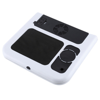 Laptop Desk Foldable Table E Table Bed USB Cooling Fans Stand TV Tray