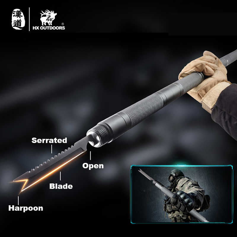 Outdoors Self Defence Multi-Tool Stick Home Car Hiking Surival Tools Safety Rod