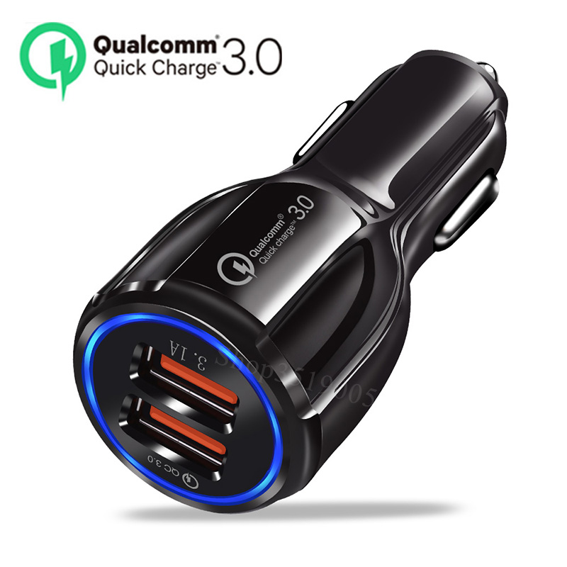 Car Quick 3.0 USB Car Phone Charger Accessories Stickers