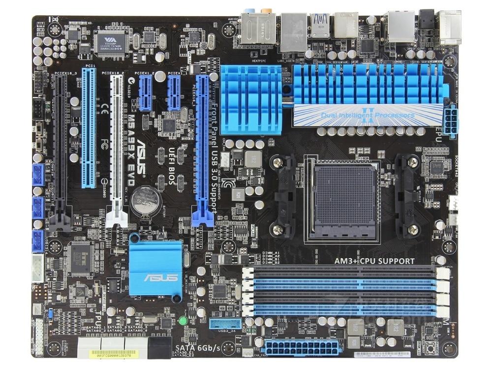 Original Motherboard For ASUS M5A99X EVO Socket AM3+ DDR3 USB2.0 USB3.0 32GB 990X Desktop Motherboard