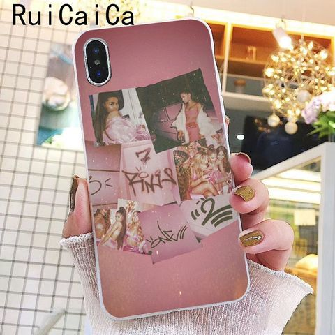 Ruicaica Ariana Grande God is a woman DIY Printing Drawing Phone Case for iPhone 8 7 6 6S Plus X XS MAX 5 5S SE XR 10 Cover Karachi