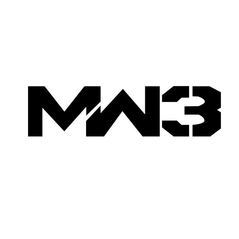 16X4.2 CM COD CALL OF DUTY MW3 MODERNO Originalidade S8-0641 Vinyl Decal Adesivo de Carro Y-093