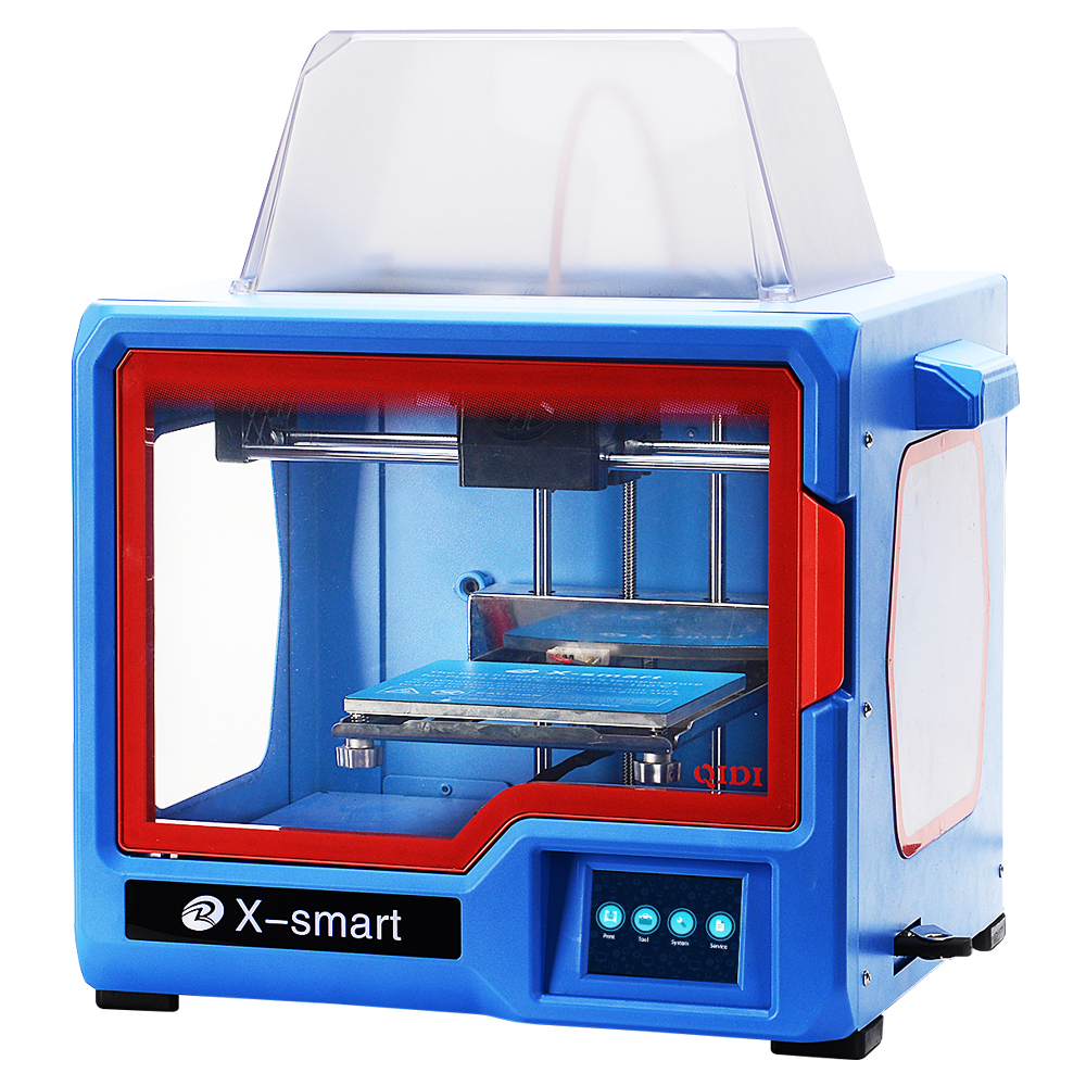 QIDI TECHNOLOGY 3D Printer, New Model: X-smart, Fully Metal Structure, 3.5 Inch Touchscreen qidi technology 3d printer upgrade high quality motherboard for qidi tech x one