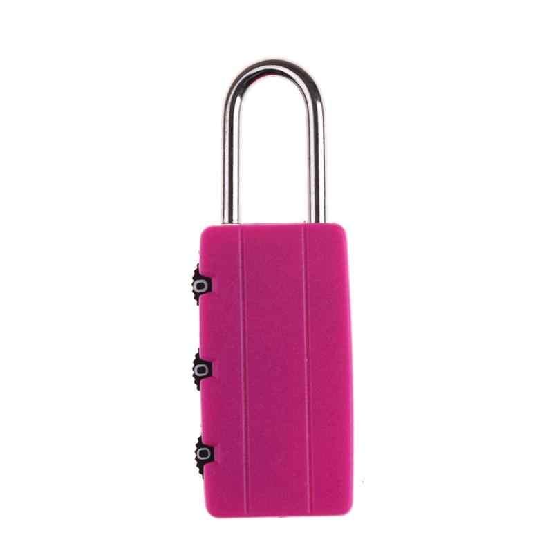 Multi-functional Safely Security Combination Locks Travel Luggage Bag keyed Padlock Locker Suitcase Drawer Cabinet Lock