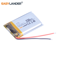 3 7V 230mAh Polymer Li Ion Battery For Sony Smartwatch 2 Battery SW2