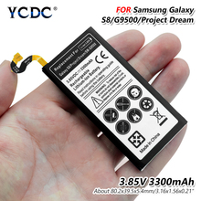 2019 Lithium YCDC Replacement Phone Battery For Samsung Galaxy S7 G9300 G930F G930 Genuine Rechargeable Batteries 3300mAh