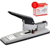 Heavy Duty Metal Stapler Bookbinding Stapling 100 Sheet Capacity Office Home Extra Paper Stapler Office Binding Supplies