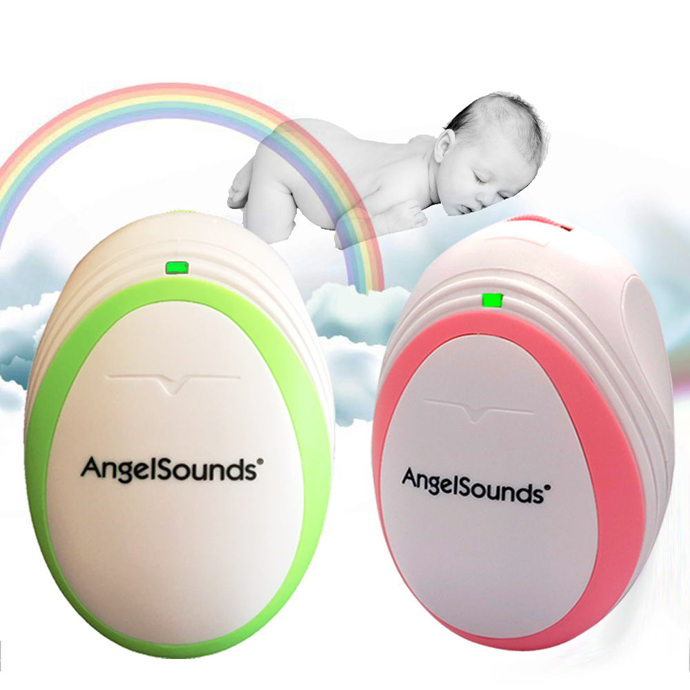 3 pieces lot CE FDA AngelSounds fetal doppler Pocket Ultrasound Prenatal Fetal Detector Portable Baby HeartRate